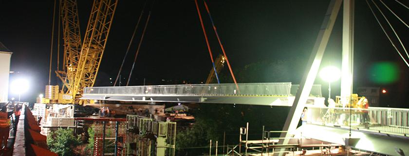 Montagekonzept Wilhelm-Meyer-Brücke -