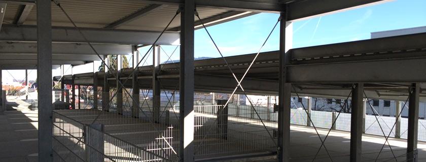 Bautechnische Prüfung Parkhaus - Parkhaus Tragwerk